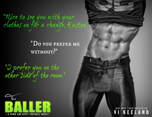 The Baller teaser book tour